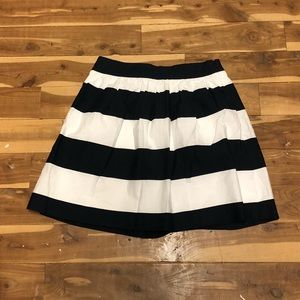 Banana Republic striped mini skirt